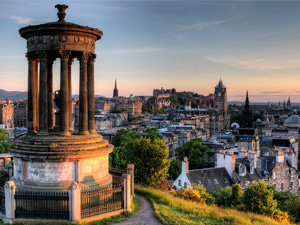 A view of the city of Edinburgh
