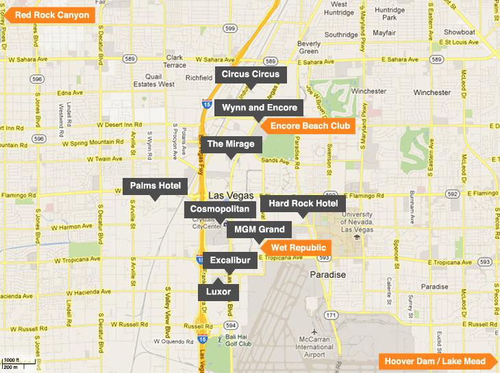 Las Vegas Map=
