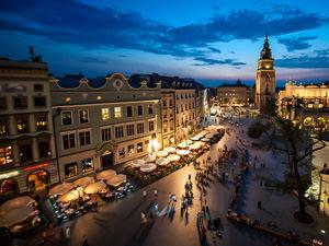 Café culture Krakow