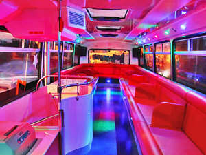 Night on the Party Bus