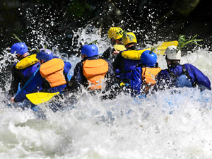 White Water Rafting & Clubbing Weekend