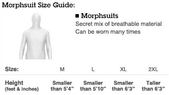 Morphsuit Guide
