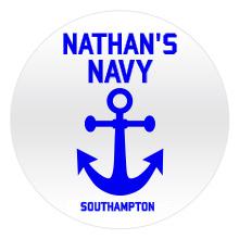 Navy badges