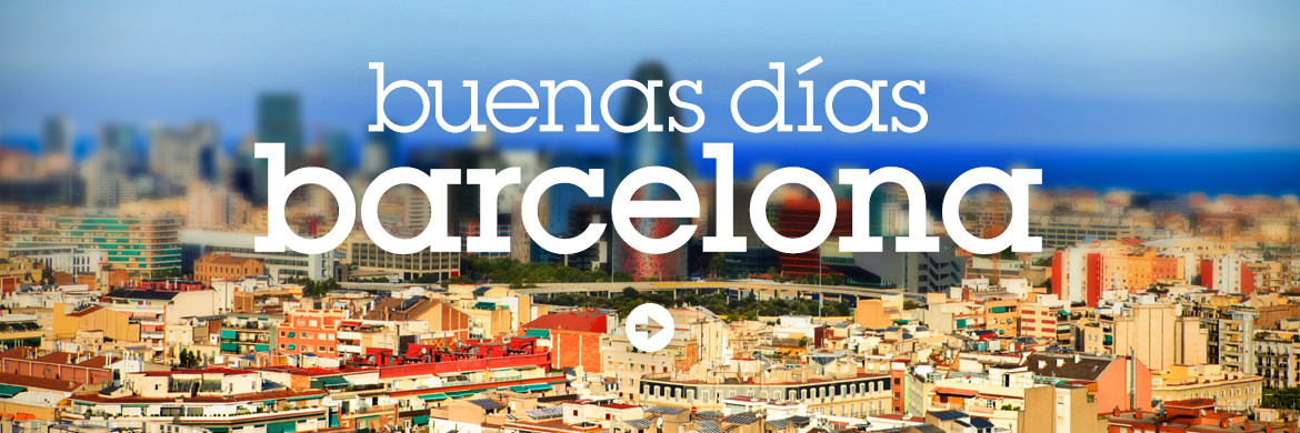 Buenas Dias Barcelona! hen weekends party location