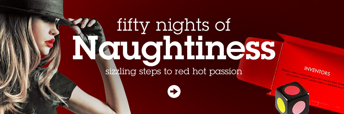 fifty nights of Naughtiness - sizzling steps to re
