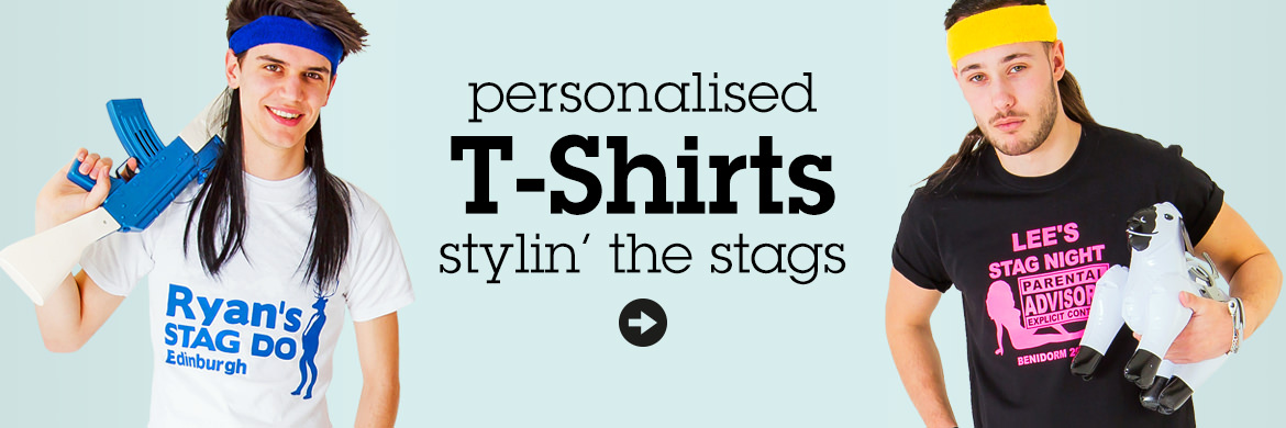 Personalised Stag Night T-Shirts