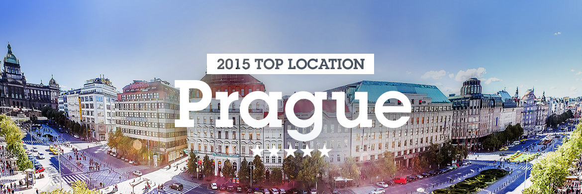 Image of the City of Prague, one of our top 10 loc