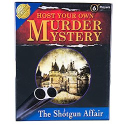 Host Your Own Murder Mystery Evening Packaging