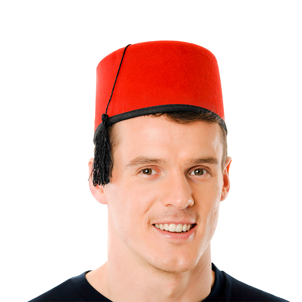 Red Fez Hat Product Image
