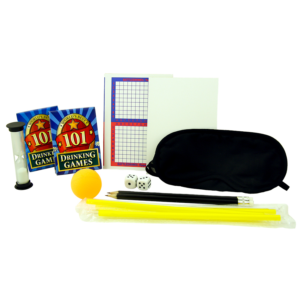 Box Of 101 Drinking Games Contents
