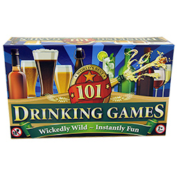Box Of 101 Drinking Games Packaging