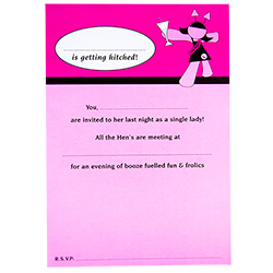 Hen Night Invitations