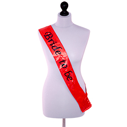 A sash with panache