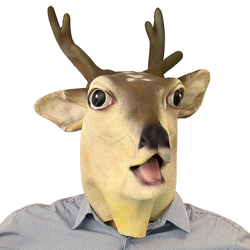 Full Head Stag Mask