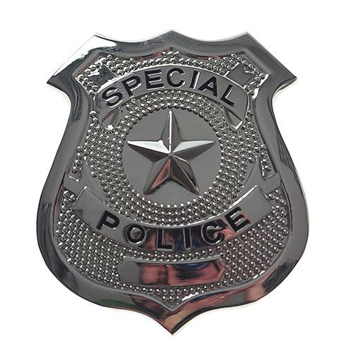 Great Authentic Looking Metal Police Badge