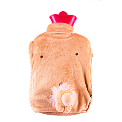 Willy Hot Water Bottle From A Birds Eye View