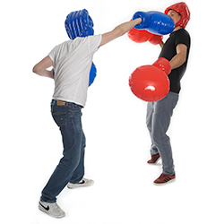 Novelty Blow Up Boxing Equipment Knock-out