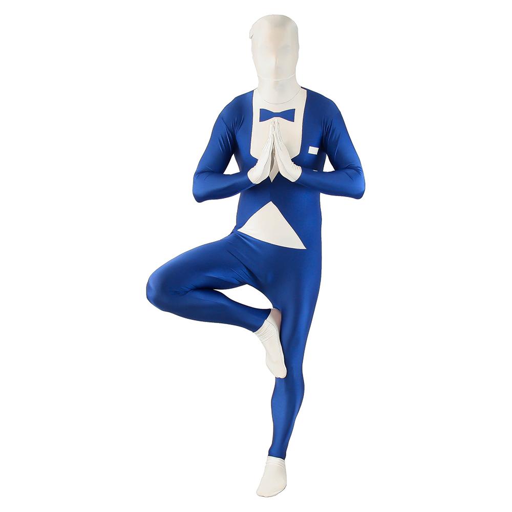 Blue Tuxedo Morphsuit