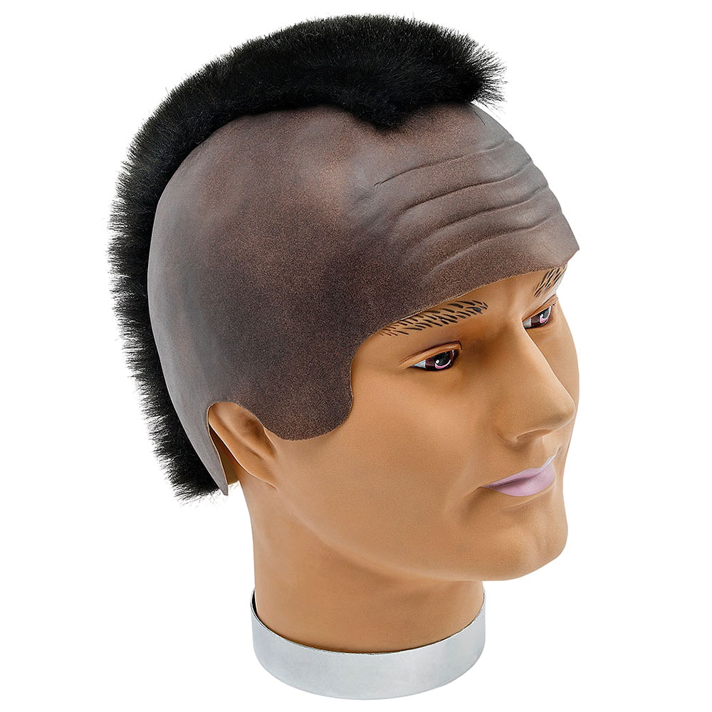 Black Mohican Wig