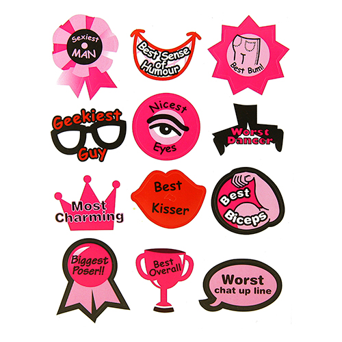 Set of Stickers and Name tags (Stickers)