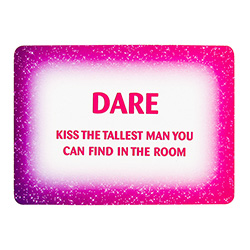 Hen Do Dare Cards Kiss The Man
