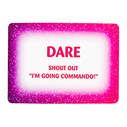Hen Do Dare Cards Shout Out