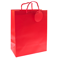Great Quality Medium Red Gift Bag