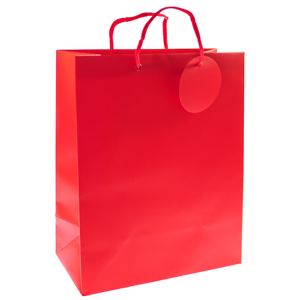 Large Red Gift Bag