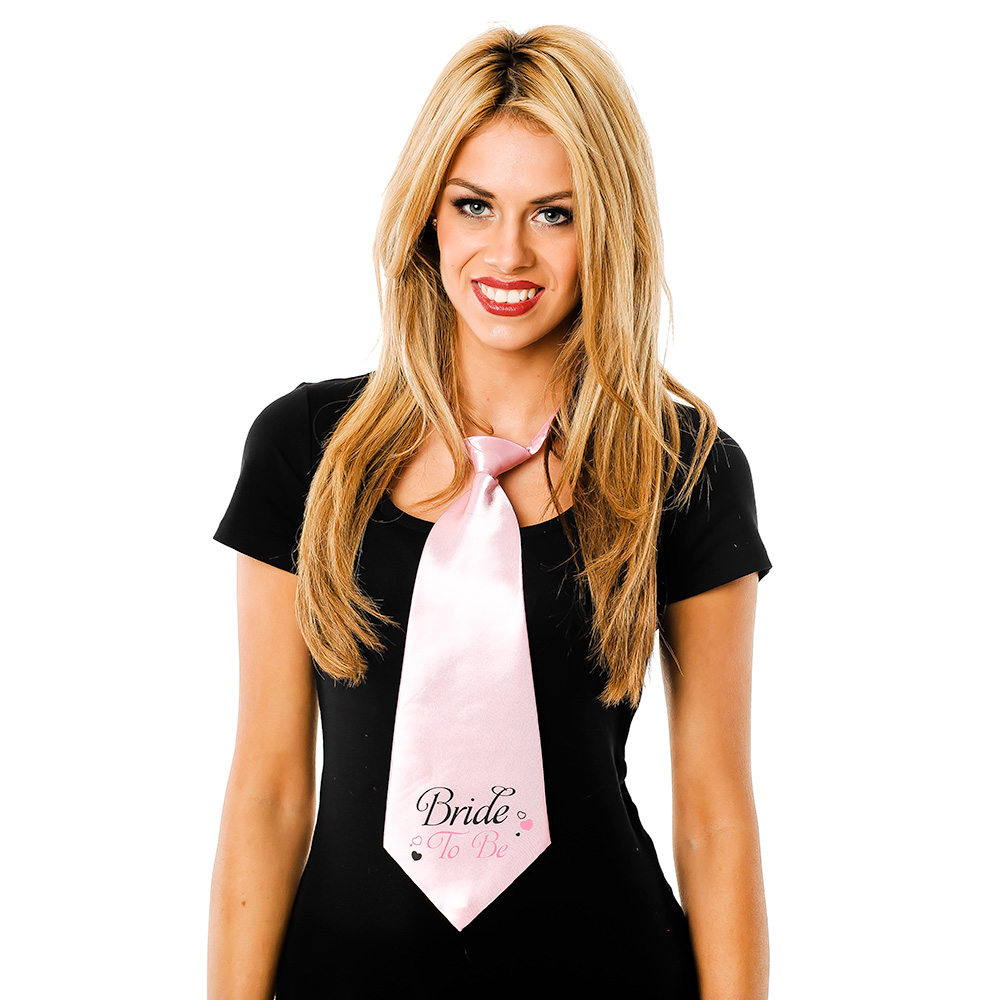 Large Bride To Be Tie
