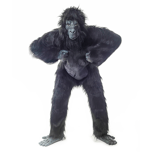 Front Facing Gorilla Suit