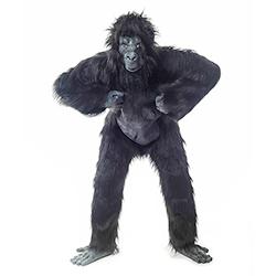 Front Facing Gorilla Suit