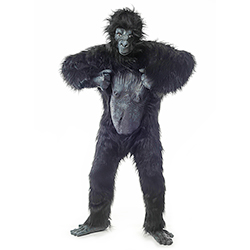 Gorilla Suit beating chest