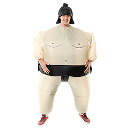 Front Facing Sumo Wrestler Outfit