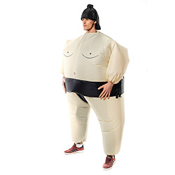 Side Facing Sumo Wrestler Outfit