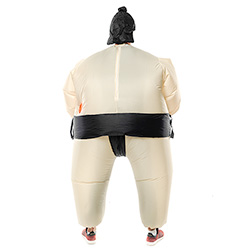 Back Facing Sumo Wrestler Outfit