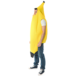 Yellow Banana Jumpsuit from the side
