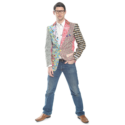 Foul fashion blazer