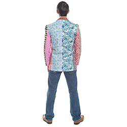 Foul fashion blazer back