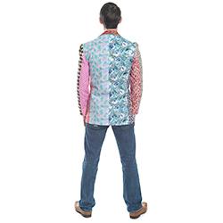 Foul fashion blazer back