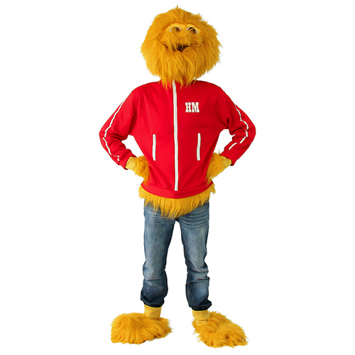 Honey Monster Costume On White Background