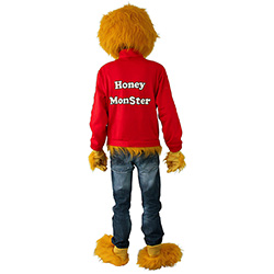 Back Of Honey Monster Costume