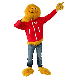Honey Monster Costume Pointing