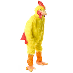 Red and Yellow Chicken Suit