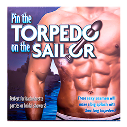 Pin the Torpedo on the Sailor Packaging