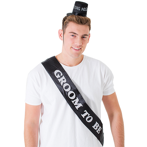 Groom To Be Body Sash