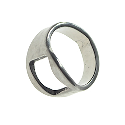 Bottle Opener Ring On White Background