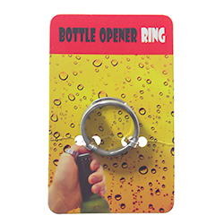 Bottle Opener Ring In Packaging