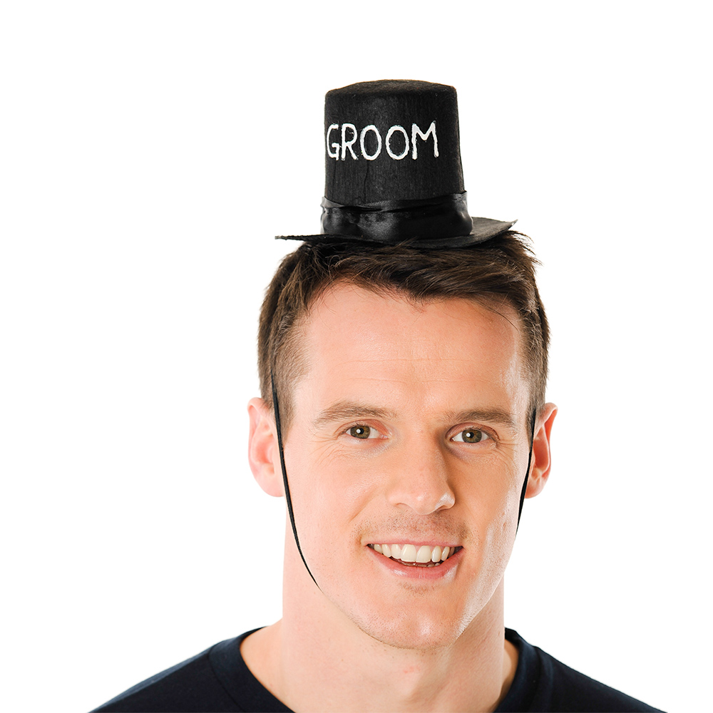 Black Mini Top Hat Product Image