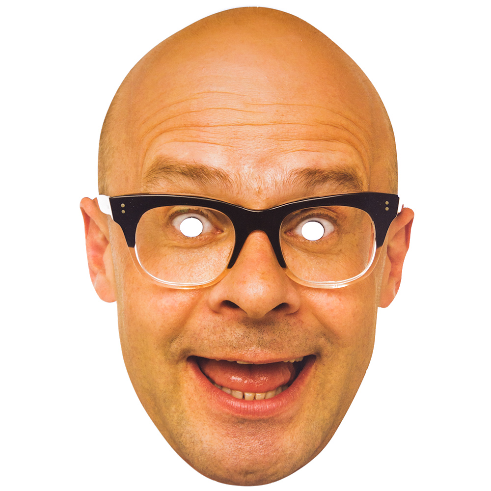 Card Mask of Harry Hill