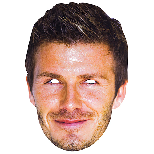 Celebrity Mask of David Beckham